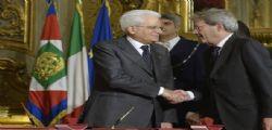 Governo Gentiloni : Ecco i 18 ministri, 6 le donne Alfano agli Esteri, Minniti all'Interno