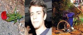 Il 18enne Rodrigo travolto e ucciso in bici mentre portava una rosa alla fidanzata