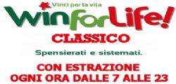 Win For Life Classico : Ultima Estrazione Oggi Venerdì 04 Luglio 2014