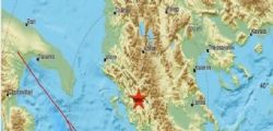 Terremoto Oggi : Nuova scossa magnitudo 4.4 nelle province di Lecce, Brindisi e Taranto