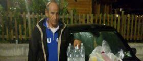 Avezzano : Il 46enne Giovanni dorme da 4 anni in auto!