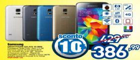 Miglior prezzo Samsung Galaxy S5 Mini : in offerta da Euronics