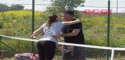 Fiorello prendo solo lezioni di tennis da Flavia Pennetta?