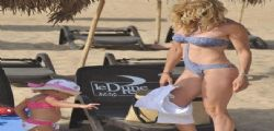 Justine Mattera in  trikini super sexy