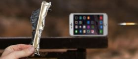 iPhone 6 : Il test di resistenza al calibro 50