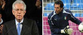 Buffon sostiene Monti: Persona seria, affidabile e moderata