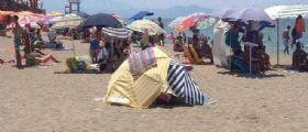 Eboli (Salerno) : Il 32enne Luca Ferrara 32 anni muore in spiaggia sotto l