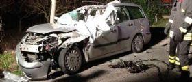 Avellino: Camion perde il carico di piombo, due auto schiacciate, morti i conducenti