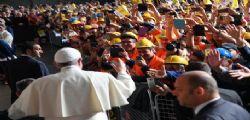 Papa Francesco : non reddito ma lavoro per tutti