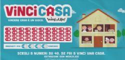 Estrazione VinciCasa Win for Life n. 1 di Mercoledì 9 luglio 2014
