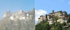 Sisma centro Italia - Arquata del Tronto non esiste più : Le drammatiche immagini del Borgo