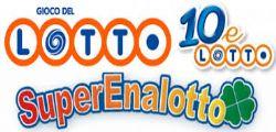 Ultima Estrazione del Lotto SuperEnalotto 10eLotto n. 124 di Giovedì 16 ottobre 2014