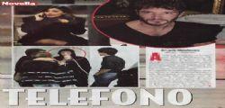 Belen Rodriguez disperata al cellullare con Stefano de Martino
