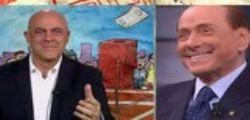 Silvio Berlusconi a Dimartedì : quella frase su Renzi non passa inosservata