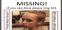 Ritrovato il corpo di Alice Gros : Si indaga per omicidio