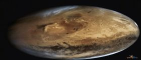 MOM condivide la seconda immagine globale di Marte con il cratere Gale!
