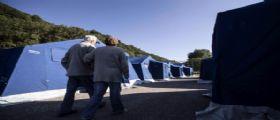 Terremoto Centro Italia : Prima notte tranquilla per gli sfollati nelle tendopoli