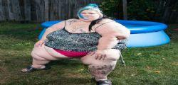 Christina Paez : super obesa e contenta