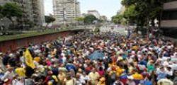 Venezuela : Marcia contro Nicolas Maduro