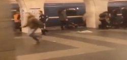 Attentato San Pietroburgo: i video dei minuti subito dopo l