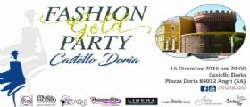 GRANDE ATTESA PER IL FASHION GOLD PARTY