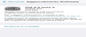 Apple rilascia iOS 8 beta 5 agli sviluppatori : Link diretti al Download