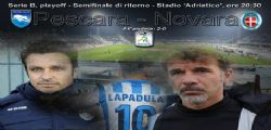 Playoff Serie B : finale per la serie A Trapani Pescara