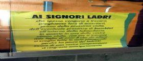 Paternò | Tabaccaio rapinato espone cartello : La prossima volta attenti ai bimbi