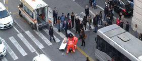 Roma: Minicar travolge una donna mentre sta attraversando sulle strisce con suo marito