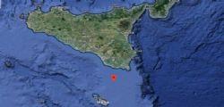 Terremoto Oggi : Sequenza sismica nel Canale di Sicilia