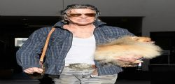 Mickey Rourke irriconoscibile a Beverly Hills