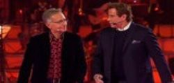 John Travolta e Paolo Bonolis a Music...
