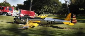 Harrison Ford precipita con il suo aereo: salvo per miracolo