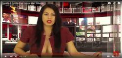 Enki Bracaj  in topless è la nuova star del giornalismo