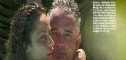 Raffaella Fico e Alessandro Moggi innamorati con Pia