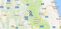 Terremoto Oggi Amatrice : Scossa magnitudo 4.2 sentita da Ancona a Roma