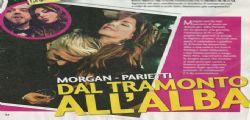Alba Parietti e Morgan a cena a Milano : Che feeling!