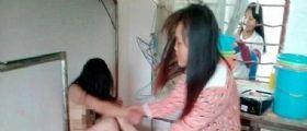 Cina : Baby Bulle sedicenni spogliano e picchiano la compagna
