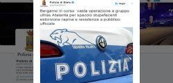 Atalanta - blitz della polizia : arrestati 26 ultrà