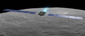La sonda della NASA Dawn in discesa libera