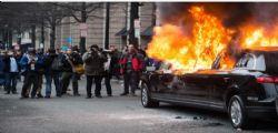 Proteste anti Donald Trump : A Washington 217 arresti