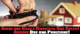 Tasse esagerate su busta paga e casa di proprietà