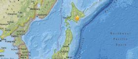 Giappone : Scossa di terremoto magnitudo 5.3 sull