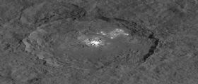Torna il Bright Spot di Cerere nelle immagini di Dawn