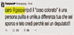 Le Iene Show : Maurizio Gasparri  bullo con una fan di Fedez