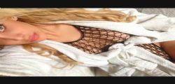 Charlotte Caniggia ritorna sui social con scatti in sexy lingerie