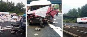 Incidente A1 : Coinvolti 8 mezzi, un morto