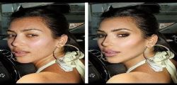 Il Lato B di Kim Kardashian : sempre photoshoppato!