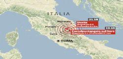 Terremoto : Oltre 150 scosse e  migliaia di sfollati