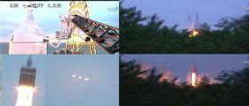 E... LiftOff! Primo spettacolare volo di test per la capsula della NASA Orion